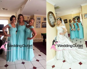aqua-bridesmaid-dresses-wedding-photos