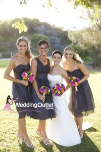 charcoal-grey-short-bridesmaid-dresses-wedding-kate