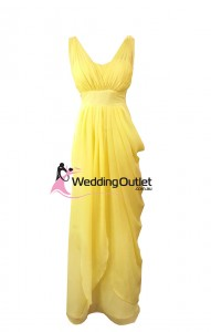 yellow-bridesmaid-dresses-maxi