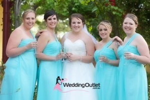 aqua-bridesmaid-dresses-wedding