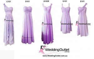 lilac-purple-bridesmaid-dresses-wedding