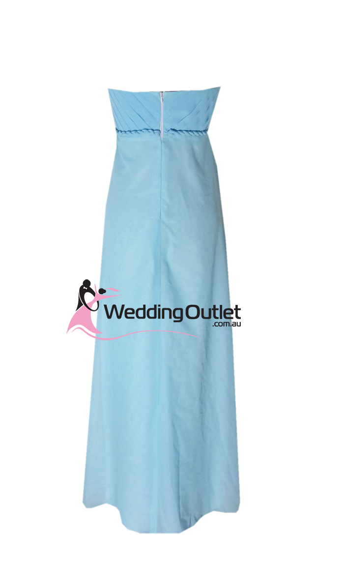 Wedding outlet wedding dresses for Baby blue wedding guest dress