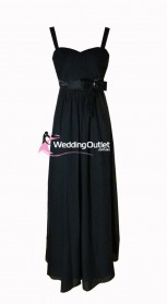 black-bridesmaid-dresses-maxi