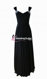 black-bridesmaid-dresses-sleeved-australia