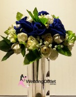 blue-bouquets-flowers-wedding-artificial-fake