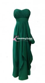 dark-green-bridesmaid-dress