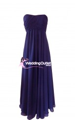 dark-purple-strapless-bridesmaid-dresses