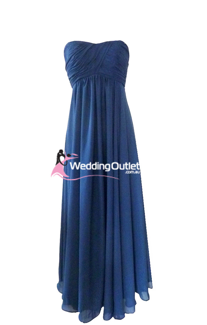 Wedding outlet wedding dresses for Navy blue dresses for wedding