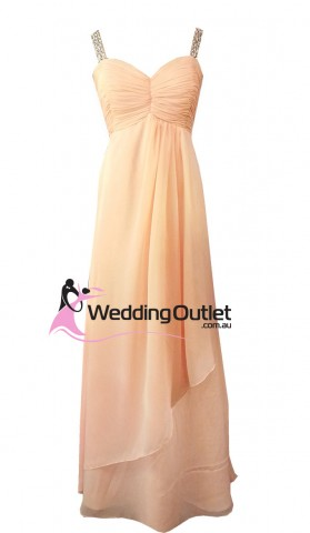 peach-evening-gown
