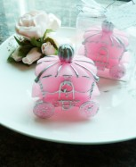 pink-carriage-candle-wedding-favor-australia