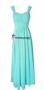 aqua-tiffany-blue-sleeves-bridesmaid-dresses-A1029