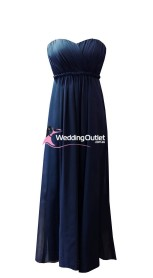 midnight-navy-blue-strapless-bridesmaid-dresses-d101
