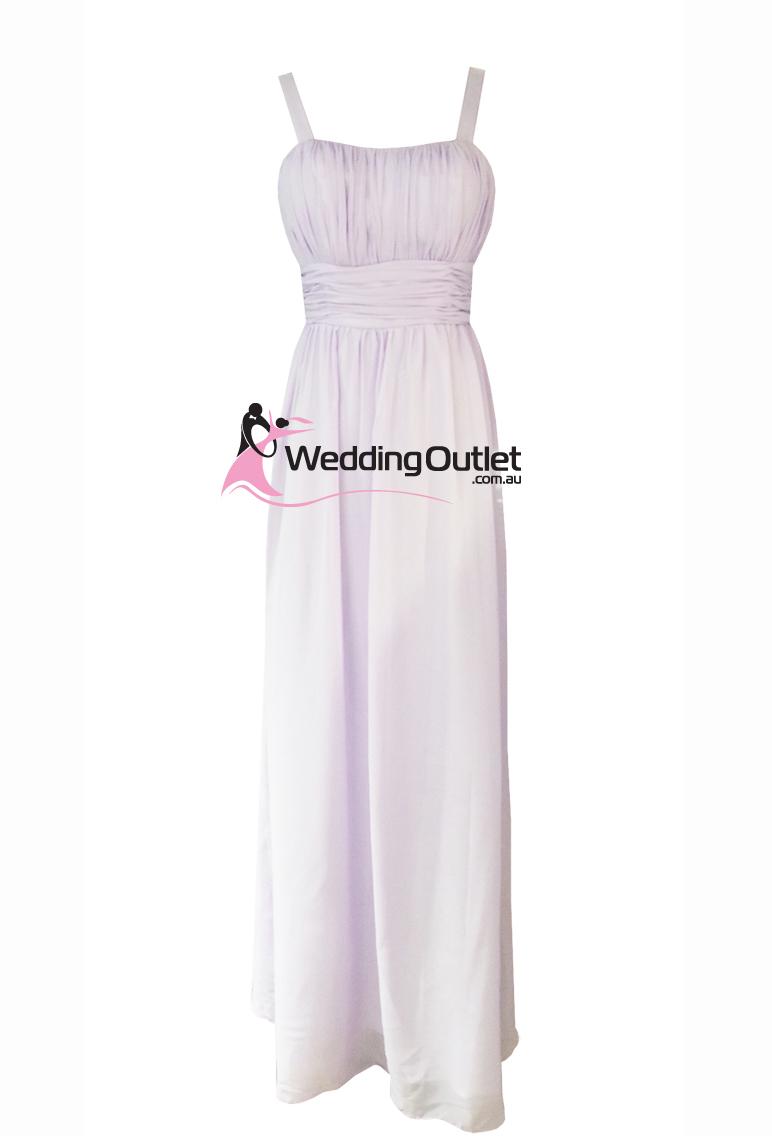 Pastel Purple Bridesmaid Dresses Style Ag101