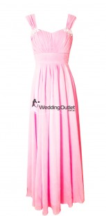 baby-pink-sleeved-bridesmaid-dresses-wedding-a1029
