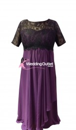 black-lace-bridesmaid-dresses-purple-cc101