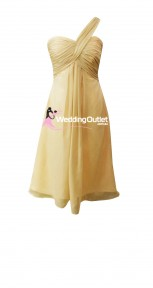 champagne-beige-tea-length-short-bridesmaid-dresses