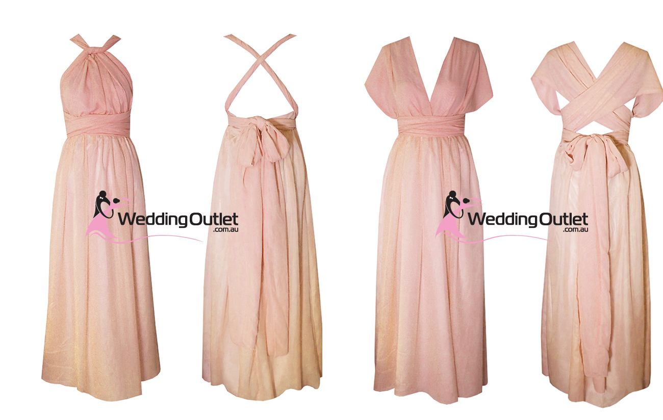 Weddingoutlet wedding outlet wedding dresses online dusty pink rose bridesmaid dresses twist wrap beach ombrellifo Image collections