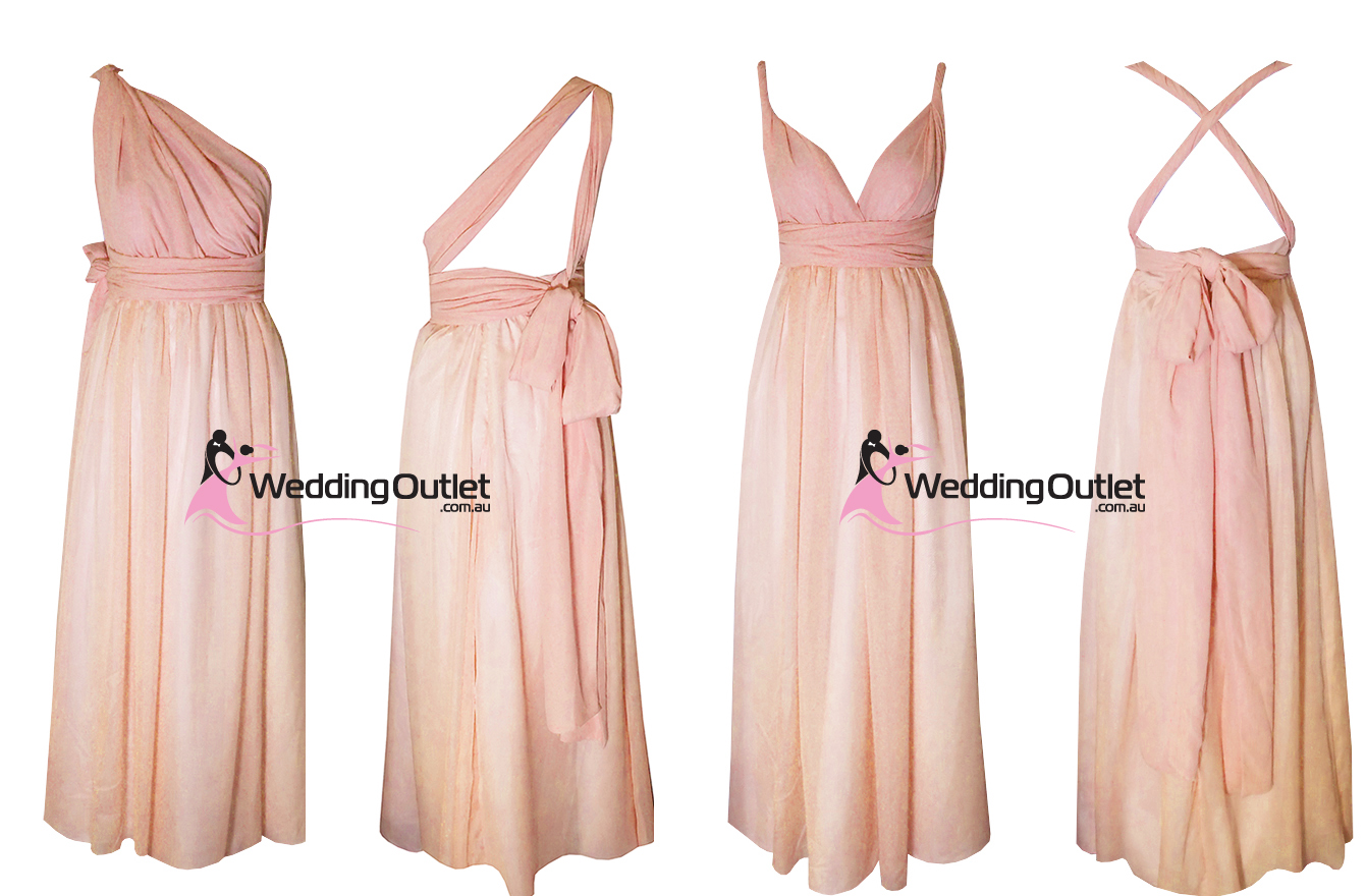 Weddingoutlet wedding outlet wedding dresses online dusty pink rose bridesmaid dresses twist wrap party ombrellifo Choice Image