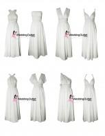 light-grey-silver-wrap-dresses-bridesmaids
