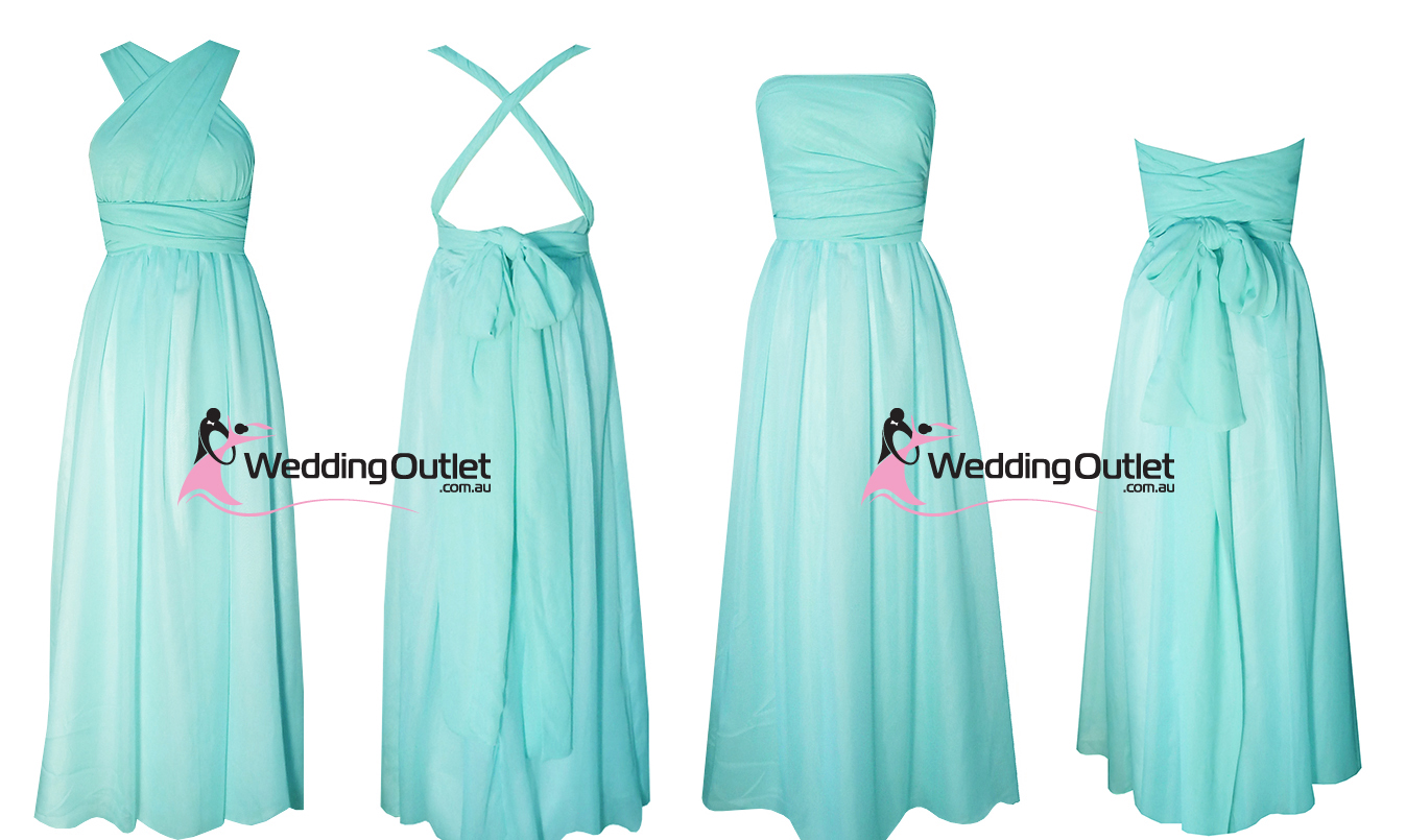 Weddingoutlet wedding outlet wedding dresses online tiffany blue aqua wrap bridesmaid dresses cocktail ombrellifo Choice Image