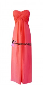watermelon-bridesmaid-dresses-strapless-r101