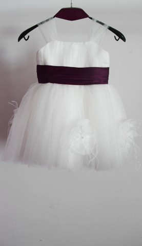 flower-girl-dresses-purple-bridesmaid