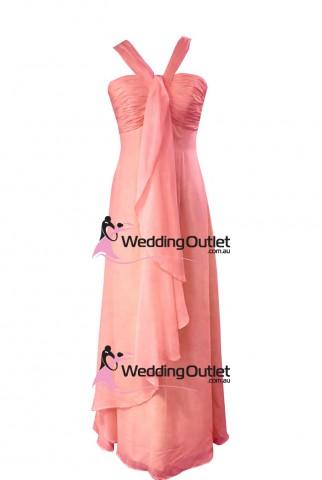 coral-pink-bridesmaid-dresses--maxi-AL101-cheap-halter