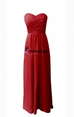 red-strapless-bridesmaid-dresses-ab101