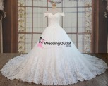 ball-gown-off-shoulder-princess-wedding-dress