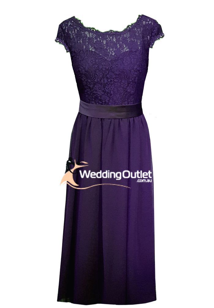 Wedding outlet wedding dresses for Purple lace wedding dress