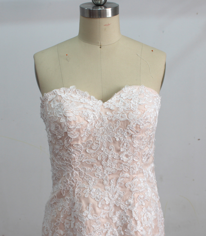 Wedding outlet wedding dresses for Wedding dress champagne lace