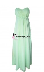 baby-green-strapless-bridesmaid-dresses