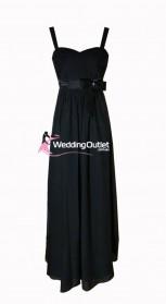 black-bridesmaid-dresses-maxi