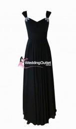 black-bridesmaid-dresses-sleeved-australia