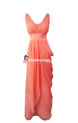 coral-bridesmaid-dresses-australia-maxi