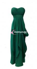dark-green-bridesmaid-dress