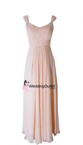 peach-bridesmaid-dresses-wedding