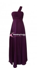 plum-purple-one-shoulder-bridesmaid-dress