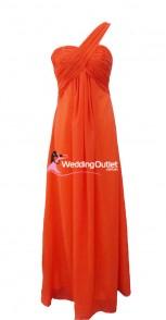 tangerine-orange-bridesmaid-dresses