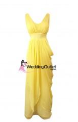 yellow-bridesmaid-dresses-maxi