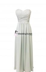 light-grey-silver-bridesmaid-dresses