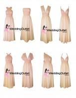 baby-peach-pastel-twist-wrap-bridesmaid-dresses