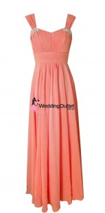 coral-sleeved-bridesmaid-dresses-wedding-a1029