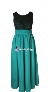 black-lace-bridesmaid-dresses-australia-ag101