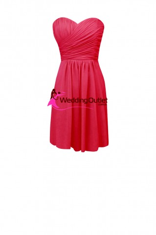 cocktail-bridesmaid-dresses-hot-pink-ab101