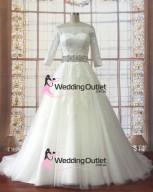 lace-long-sleeves-princess-vintage-wedding-gown-jacinda