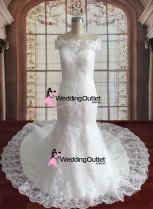 lace-mermaid-off-shoulders-wedding-dress-australia