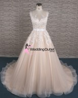 lace-champagne-princess-wedding-dress-australia