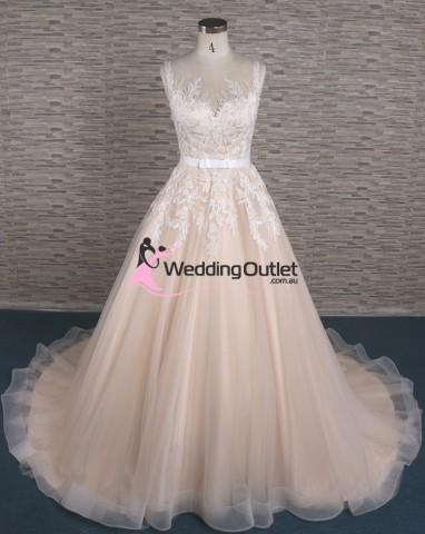 lace-champagne-princess-wedding-dress-australia